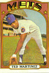 1972 Topps Baseball Cards      544     Ted Martinez